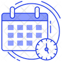 Schedule Time Management Timetable Icon