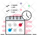 Event Calendar Timetable Yearbook Icon