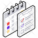 Schedule Planning Todo List Icon