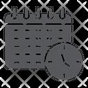 Schedule Organizer Time Icon