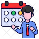 Schedule Calendar Time Icon