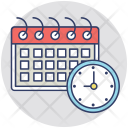 Schedule Plan Program Icon