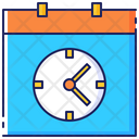 Schedule Business Calendar Icon