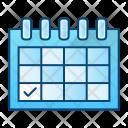 Schedule Date Calendar Icon