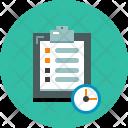 Schedule List Task Icon