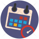 Time Settings Clock Icon