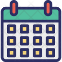 Schedule Calendar Wall Calendar Icon