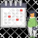 Schedule Reminder Calendar Icon