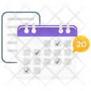 Calendar Planner Schedule Icon