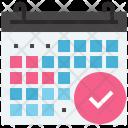 Schedule Task Management Icon