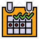 Calendar Deadline Schedule Icon