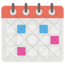 Schedule Time Table Calendar Icon