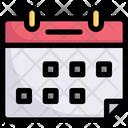 Schedule Calendar Time Icon