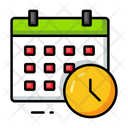 Schedule Education School Icon
