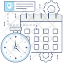 Calendar Daybook Datebook Icon