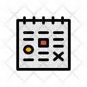 Timeline Schedule Dateline Icon
