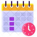 Schedule Event Calendar Appointment Icon