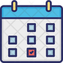 Iteration Milestone Schedule Icon