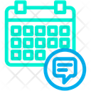 Chat Planner Date Icon