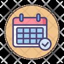 Mschedule Schedule Planning Icon