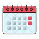 Calendar Deadline Event Icon