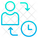 Daily Schedule Time Management User Time Management Icon