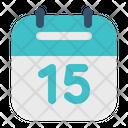 Target Date Calendar Icon