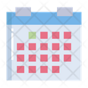 Artboard Calender Schedule Icon
