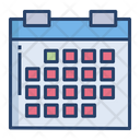 Schedule Event Reminder Icon