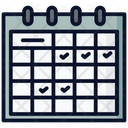 Schedule Exercise Gym Icon