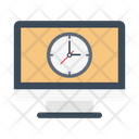 Schedule Timetable Clock Icon