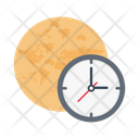 Schedule Global Time Icon