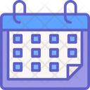 Calendar Time Meeting Icon