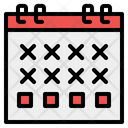 Schedule Administration Time And Date Icon