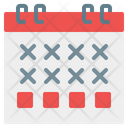 Calendar Schedule Administration Icon