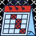 Schedule Calendar Date Icon
