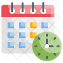 Schedule Meeting Event Icon