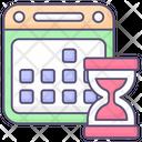 Organizer Schedule Sign Icon
