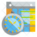 Schedule Time Date Icon