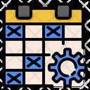 Schedule Program Timetable Icon