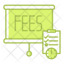 Schedule Planning Fees Icon