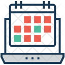 Schedule Timer Laptop Icon