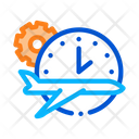 Gear Plane Watch Icon