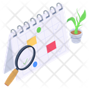 Appointment Analysis Schedule Analysis Business Calendar Icon