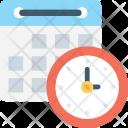 Schedule Timetable Timeframe Icon