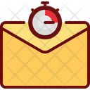 Timer Mail Time Limit Email Stopwatch Icon