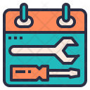 Schedule Maintenance Icon