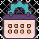 Management Calendar Time Icon