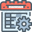 Schedule management Icon