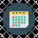 Schedule Calendar Month Icon